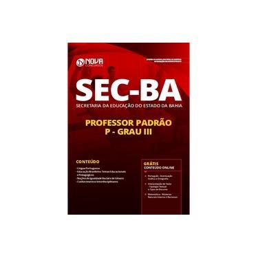 Imagem de Apostila SEC BA - Professor Padrão P - Grau III