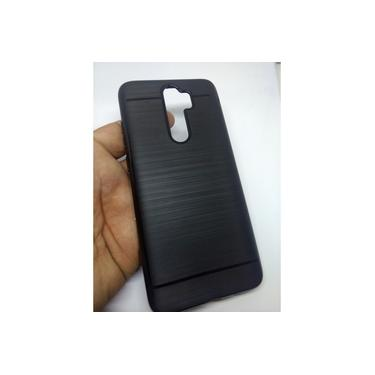 kit 2 Capa Case Capinha Emborrachada preta Redmi Note 8 Pro