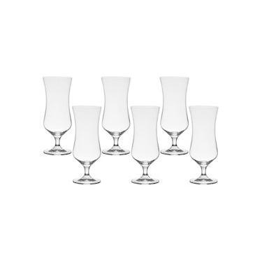 Jogo com 6 Taças De Cristal Para Cocktail 450 ml Linha Forum Bohemia