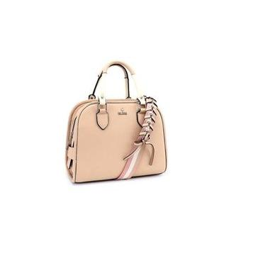 Bolsa Estruturada Bliss Bag - Material Sintético cor Nude