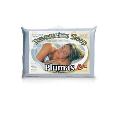 Imagem de Travesseiro Castor Sleep Pluma de Ganso 50x70x12cm