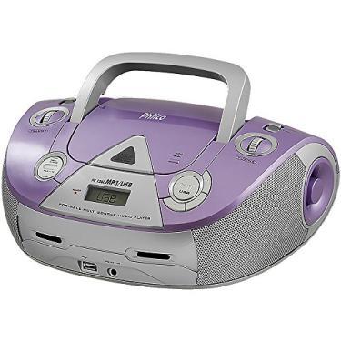 Boombox, PB126L, entradas USB e MP3, 4W RMS, Bivolt, Philco