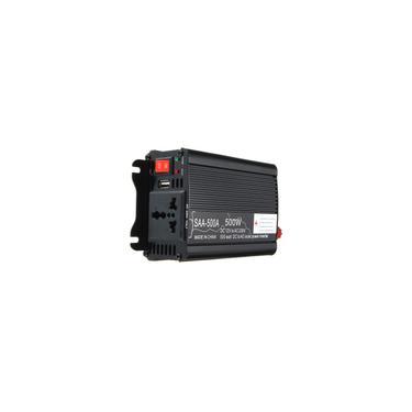 Inversor de Energia Solar 500 W Pico 12 V dc Para 220 V ac Modificado Conversor de Onda Senoidal