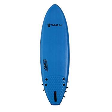 Imagem de Prancha de surf Softboard Taruga Surf - Azul - 4.11