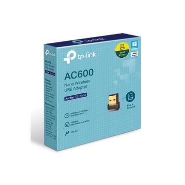 Adaptador Usb S/fio Ac600 Archer T2u Nano Tp-link