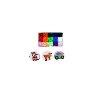Imagem de 3800pcs perler Toy Kit hama beads 3D Puzzle diy