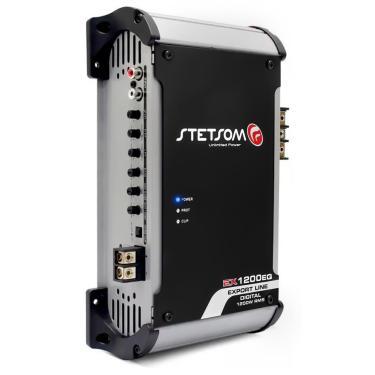 Módulo Amplificador Stetsom High Low EX 1200 EQ.2 1200W RMS 1 Canal 2 Ohms RCA Classe D