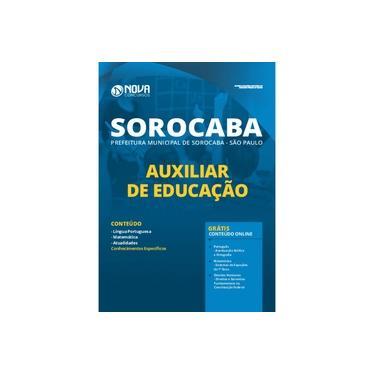 Imagem de Apostila Pref de Sorocaba - SP 2020 - Auxiliar de Educação
