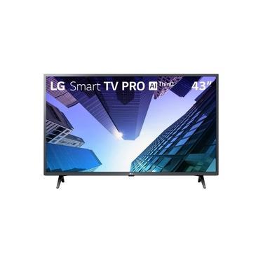 "Imagem de Smart TV 43"" LG LCD Full HD LM631C0SB Pro ThinQ AI Inteligência Artificial HDR Ativo 3 HDMI 2 USB"