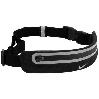 Pochete Nike Expandable Lean AC3391-022, Cor: Preto, Tamanho: UNICO