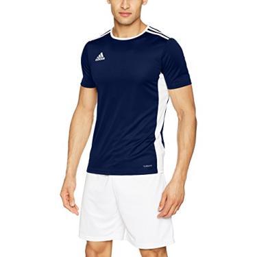 Camisa Adidas Entrada 18 Marinho Masculina P