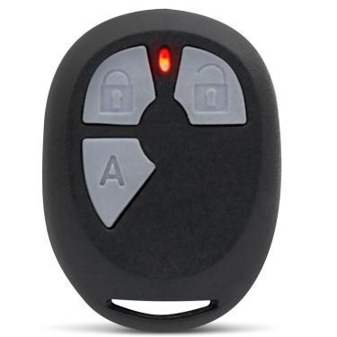 Controle Alarmes Automotivo Pósitron Universal 3 Botões Função Trava Destrava Portas Alarme
