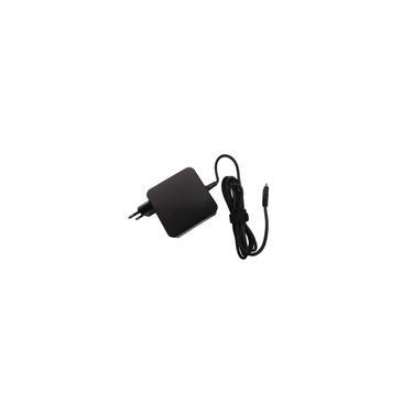 Imagem de Carregador Compatível Para Notebook Da Lenovo, hp, Acer Usb-c 65w le09