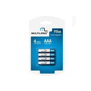 Pilha Recarregavel Multilaser Aa Com 4 Un - Cb052