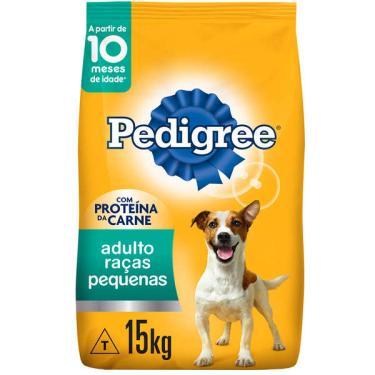Ração Seca Pedigree para Cães Adultos Raças Pequenas - 15 Kg