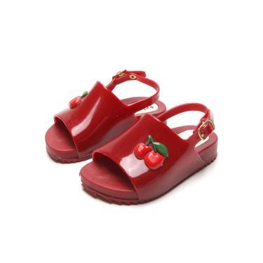 Sandália Luelua Menina Cereja Vermelha Tricae DF403-06 menina