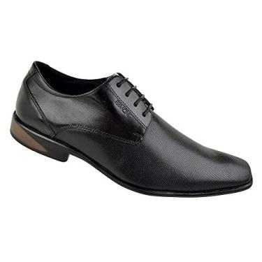 Sapato Social Ferracini Sidney Preto Cadarço