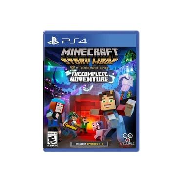 Minecraft Story Mode: The Complete Adventure - Ps4