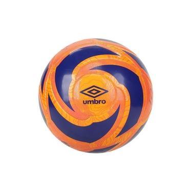 Bola De Futebol Society Umbro Velocita Laranja/azul