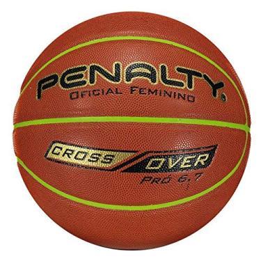 Bola de Basquete Oficial Feminino Pró 6.7 Cross Over - Penalty