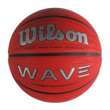 ce7d4b11ec Bola de Basquete Wave Phenom 7 Wilson - Vermelho Preto