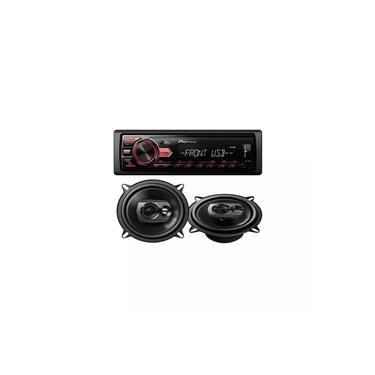 Kit Media Receiver Mvh-98ub + Alto Falante Ts-1390br Pioneer