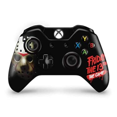 Skin Adesivo para Xbox One Fat Controle - Friday The 13Th The Game - Sexta-Feira 13