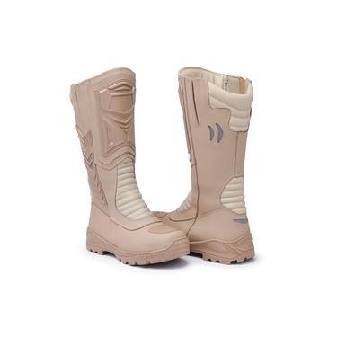 Bota Coturno Militar Elite Touro Boots Acero Masculina Bege