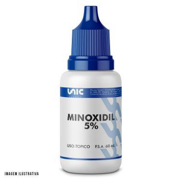 Loção capilar minoxidil 5% 60ml