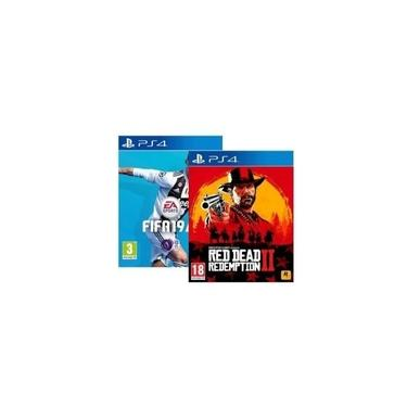 Combo Red Dead Redemption 2 + Fifa 19 - Ps4