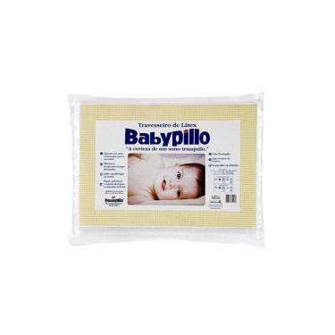 Imagem de Travesseiro Copespuma Babypillo Látex 25cmx35cmx3cm