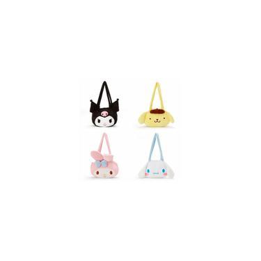 Chegada Nova My Melody Cinnamoroll PomPomPurin Kuromi dos desenhos animados Plush Bolsa Totes Bolsa de Ombro para a mulher dos presentes das meninas Plush Bag