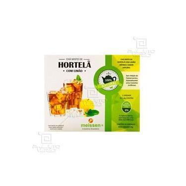 Chá Misto de Hortela c/ Limão 15 Sachês 1,4g - Meissen