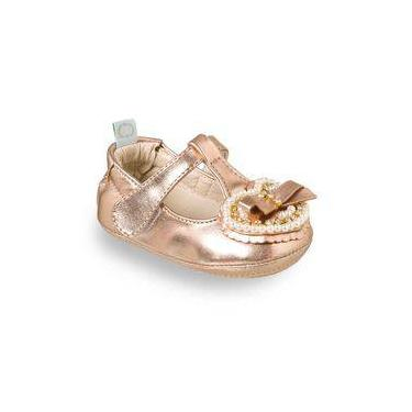 Sapatilha Fiorela Bronze