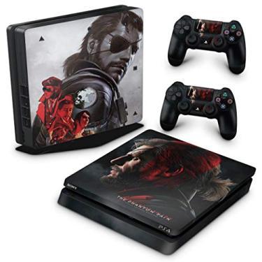 Skin Adesivo para PS4 Slim - Metal Gear Solid 5: The Phantom Pain