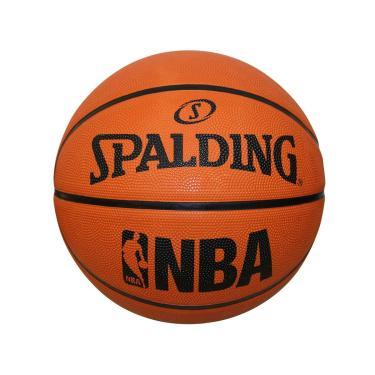 Bola De Basquete Oficial Spalding Oficial Laranja Nba Fastbreak