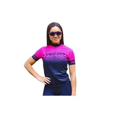 Camisa Ciclismo Vezzo Epic Rosa Fem - P