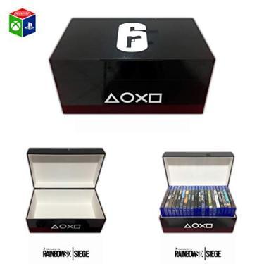 Porta jogos para PS3/PS4/Xbox One Rainbow Six Siege