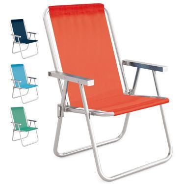 Cadeira Alta de Alumínio Mor Conforto Sannet, Cor Sortida - 2160