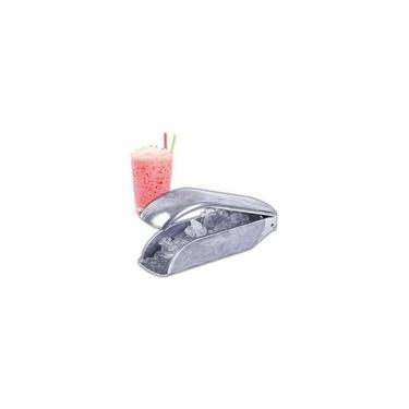 Raspador De Gelo Para Sorvete Raspadinha Anodilar Alumínio Quebrador De Gelo Triturador Perfeito Para Drinks Raspadinha