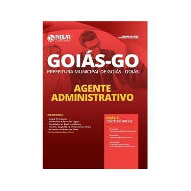Imagem de Apostila Prefeitura Goiás Go - Agente Administrativo