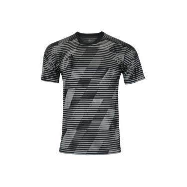 Blusa Esportiva Adidas Camiseta Cinza Masculino  1d88dcbd7f7