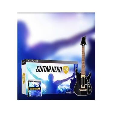 Guitar Hero Live (Kit Jogo + Guitarra) - Ps3