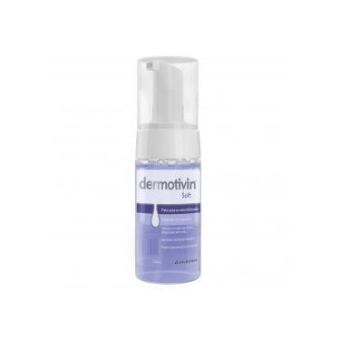 Dermotivin Soft Sab Espuma Facial Pele Seca Sensível 130mL