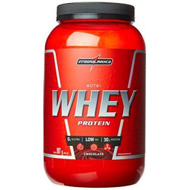 Nutri Whey Protein, IntegralMédica, Chocolate, 907g