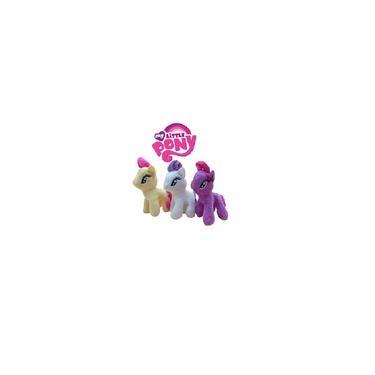 Imagem de 3 Pelúcia Ponei My Little Poney Pelucia Pony 23 cm