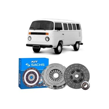 Kit Embreagem Volkswagen Kombi 1.6 82 a 2006 Sachs