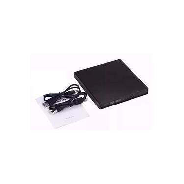 Gravador Cd/Leitor DVD (não Grava DVD) Externo USB 2.0