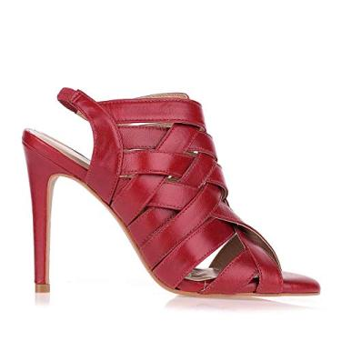 Sandália Salto Alto New Uza Shoes (39)