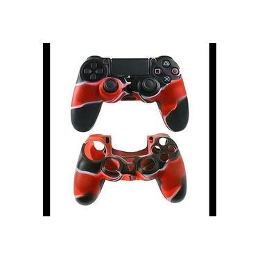 Case Capa De Silicone Para Controle Dualshock 4 Playstation 4 Ps4